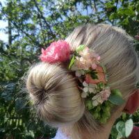 Blumen Dutt Braut