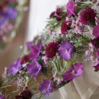 Blumendeko Violett Zart 1