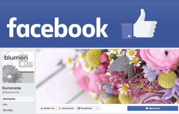 Blumenecke Facebook Banner