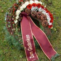 Blumenkranz Zum Gedenken
