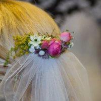 Haarschmuck Pink Roeschen