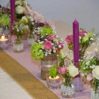 Tischdeko Mit Vielen Vaeschen (T10)